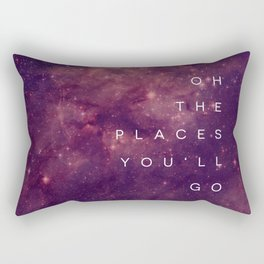 The Places You'll Go I Rectangular Pillow