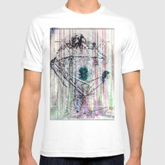 ... Mens Fitted Tee White MEDIUM
