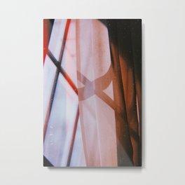 curtains Metal Print