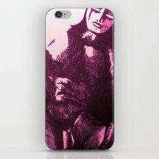 nude male pink iPhone & iPod Skin
