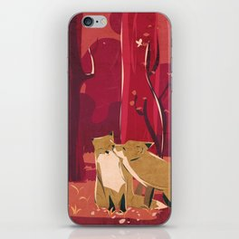 Forest Love iPhone Skin