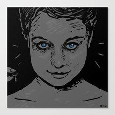 Samantha Morton (clean) Canvas Print
