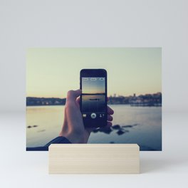 iPhoneogrpahy Mini Art Print