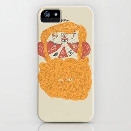 Der Bart iPhone Case