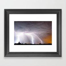 Super Strikes Framed Art Print