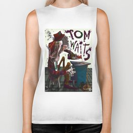 Tom Waits Biker Tank
