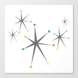 Atomic stars Canvas Print
