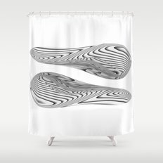 Twin Beans Shower Curtain