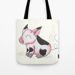 Pudgy Piglet Tote Bag