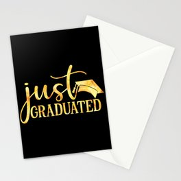 Just Graduated Stationery Cards