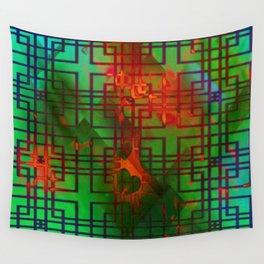 Shambala Matrix by Kenny Rego Wall Tapestry