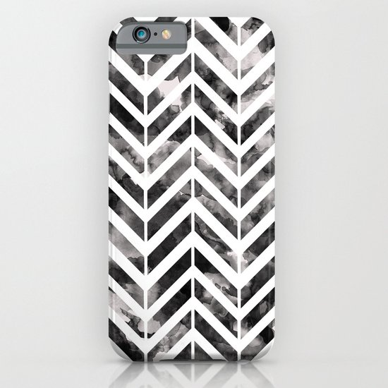Brush Chevron iPhone & iPod Case