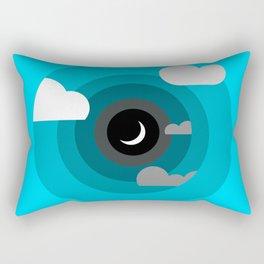 Into the clouds Rectangular Pillow