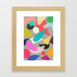 colored toys 1 Framed Art Print