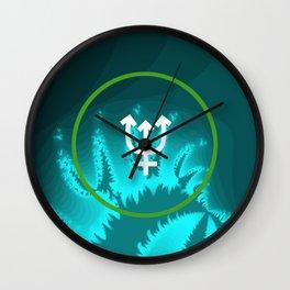 The Love Of Neptune Wall Clock