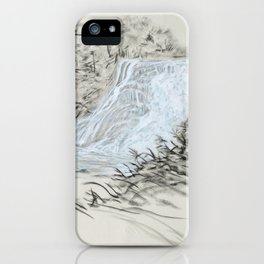 Local Gem # 6 - Ithaca Falls iPhone Case