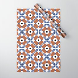 Moroccan Tile - poppy Wrapping Paper