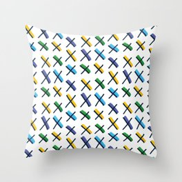 Accent Exes Throw Pillow