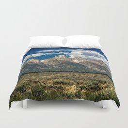 The Grand Tetons - Summer Mountains Duvet Cover