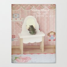 The Frog Princess Canvas Print