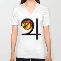 sagittarius V-neck T-shirts featuring Sagittarius  by IRIS Photo & Design