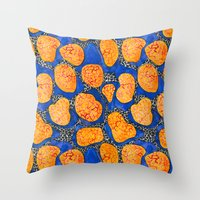 memphis Throw Pillows featuring Memphis by The Patternbase