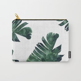 Banana Leaf Watercolor #society6 #buy #decor Carry-All Pouch