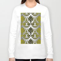 baroque Long Sleeve T-shirts featuring Baroque Contempo by TEZ Living Style