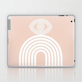 Abstraction_EYE_LINES_Minimalism_001 Laptop & iPad Skin