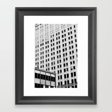 URBAN ABSTRACT 3 Framed Art Print