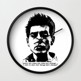 Bob Dylan Things Have Changed Wall Clock