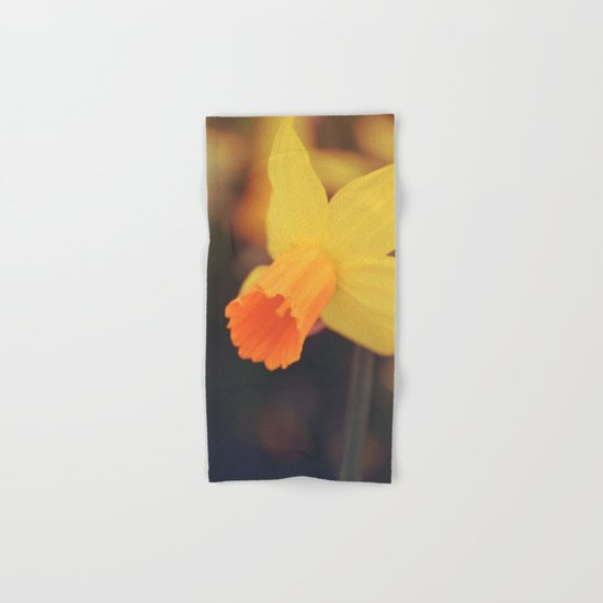 Yellow Narcissus Hand & Bath Towel
