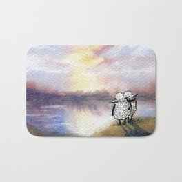 Companion Sheep Bath Mat