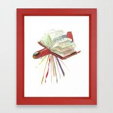 Bookplane Framed Art Print