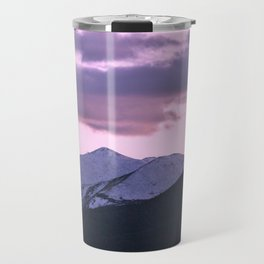 Pink Colorado Travel Mug