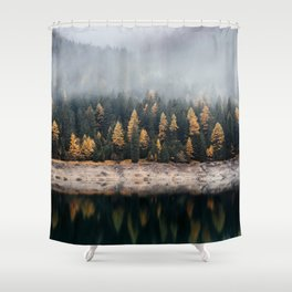 autumn vibes Shower Curtain
