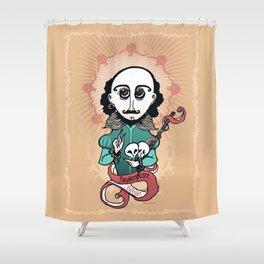 Shakespeare Holy Writer Shower Curtain