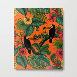 Toucan garden  2  Metal Print