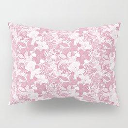 Flower Pink Pillow Sham