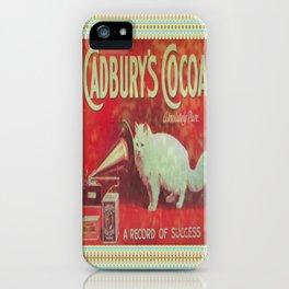 Cadburys Cocoa iPhone Case
