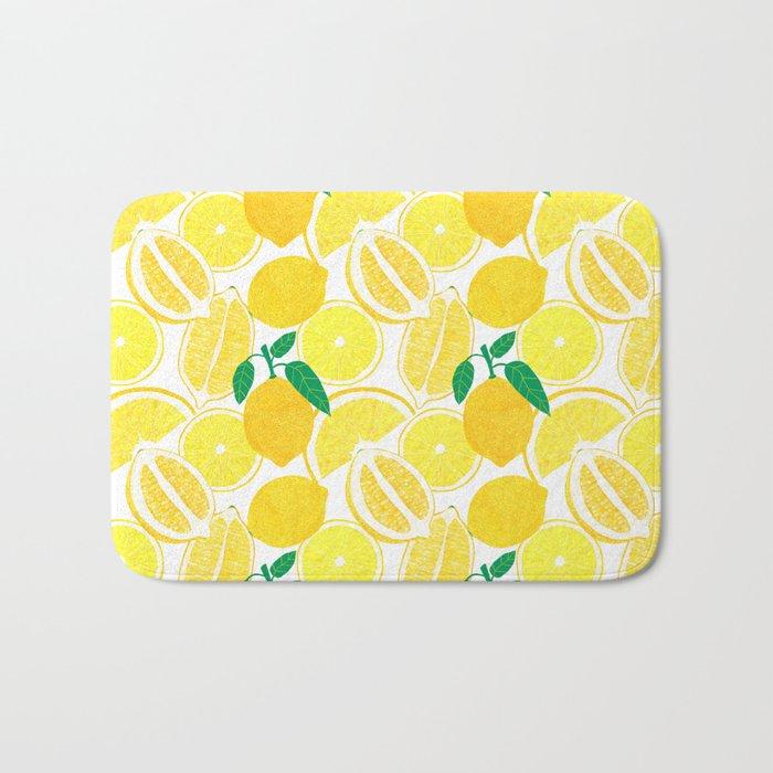 Lemon Harvest Bath Mat