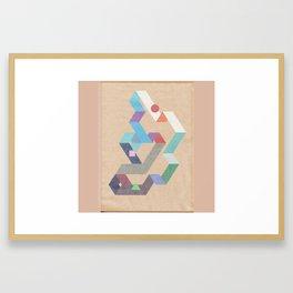 Parallelogram: Harmony II Framed Art Print