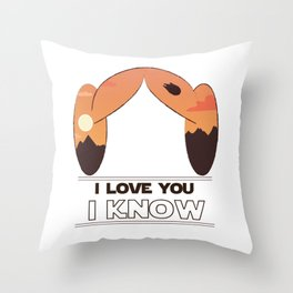 Our Princess Throw Pillow