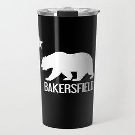 Bakersfield and California Bear Travel Mug