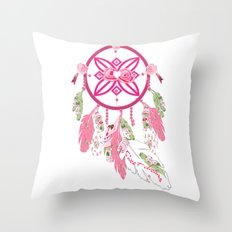 Shabby Chic Dream Catcher Throw Pillow