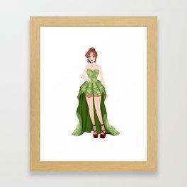 Jupiter Roses Framed Art Print