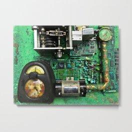 Time Machine Universal Compensator or T.M.U.C. Metal Print