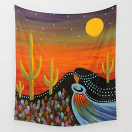 Desert Mother Wall Tapestry