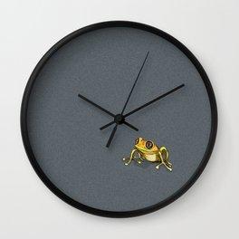 Grenouille Wall Clock
