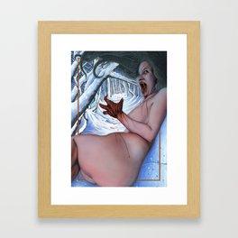 Feeding Framed Art Print